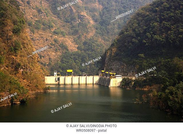 Tala Hydropower Project Tala dam , Chukha Valley , Bhutan
