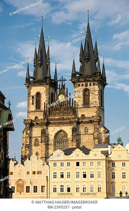 Tyn Church, Prague, Czech Republic, Europe