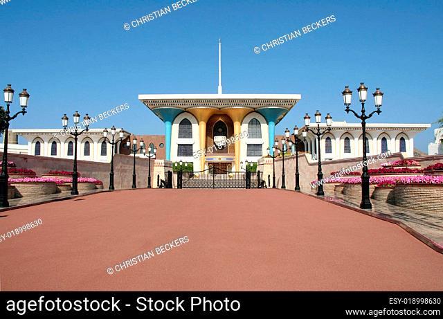 Palast des Sultans vom Oman, Muscat