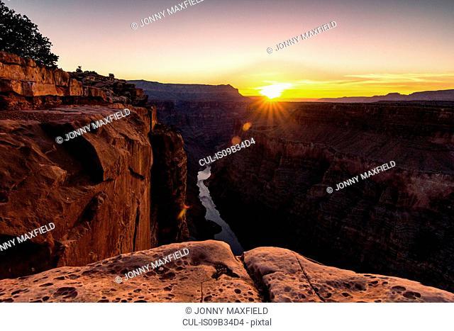View from Torroweap overlook, Littlefield, Arizona, USA