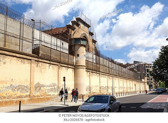 Exterior of centre penitenciari d'homes de barcelona - prison for men