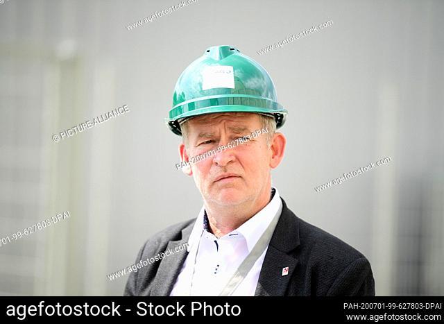 26 June 2020, Brandenburg, Spremberg: Toralf Smith, Chairman of the Works Council of Lausitz Energie Kraftwerke AG and Lausitz Energie Bergbau AG (LEAG)