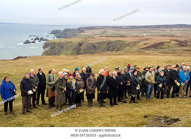 Service for the rededication of the American Monument at Mull of Oa in the Mull of Oa on Islay. Featuring: Atmosphere Where: Islay