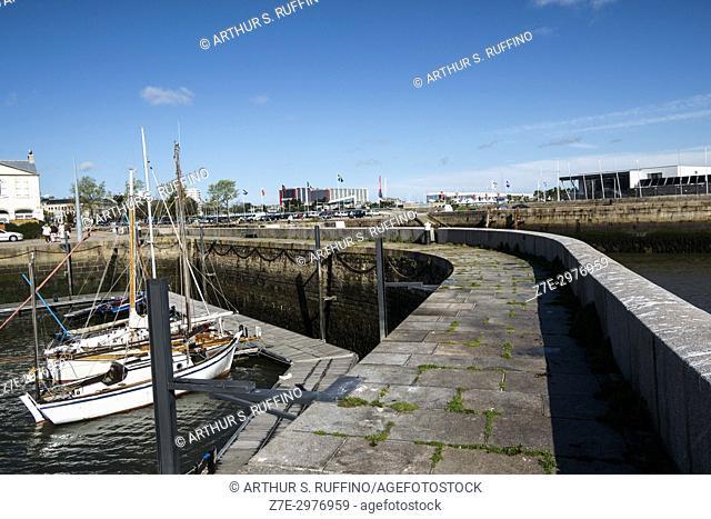 Cherbourg-Octeville Port. Cherbourg-Octeville, Manche Department, Normandy, France, Europe