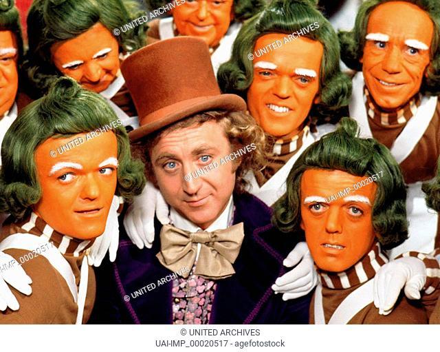 Willy Wonka und die Schokoladenfabrik, (WILLY WONKA AND THE CHOCOLATE FACTORY) USA 1971, Regie: Mel Stuart, GENE WILDER, Key: Zylinder