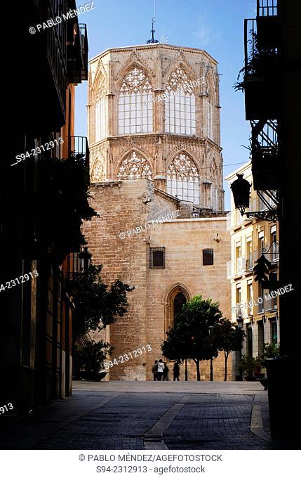 Basilica of Nostre Senyora in Valencia city center, Spain