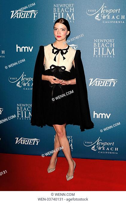 Newport Beach Film Festival - annual honours at Rosewood London, Holborn, London Featuring: Anya Taylor-Joy Where: London