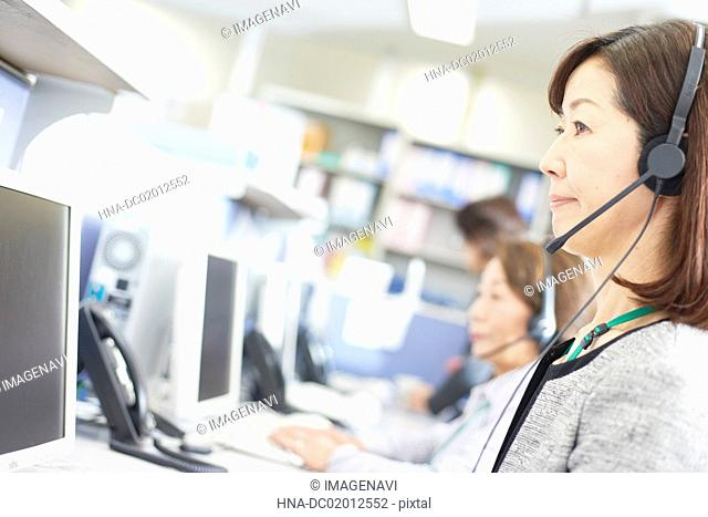 Image of call center