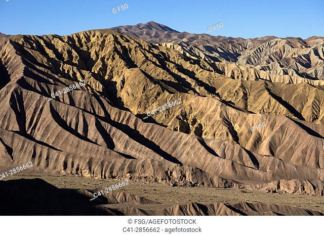 Desert Near Kerman. Iran