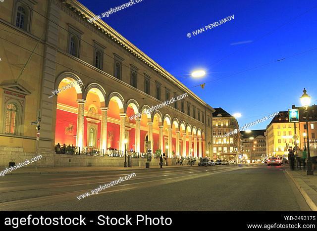 Munich at Night, Germany
