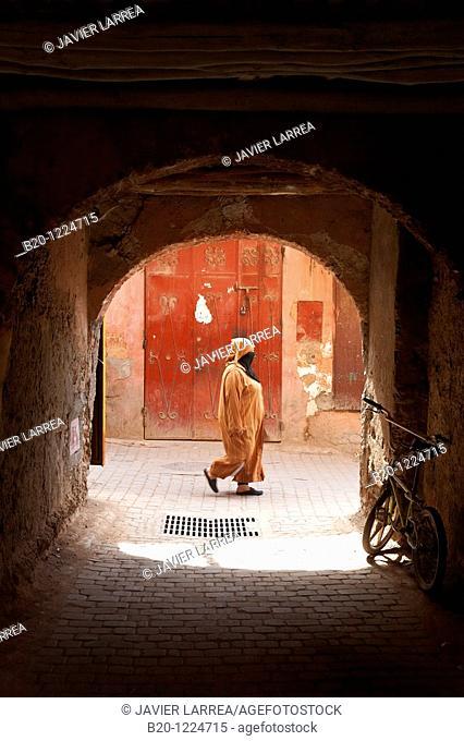 Souk, Medina de Marrakech, High Atlas, Morocco