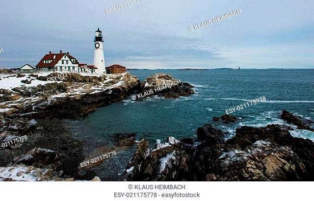 Portland Head Light - Maine - USA von 1787