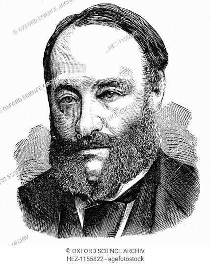 James Prescott Joule, English physicist, 1875. Joule (1818-1889) was born at Salford near Manchester and studied chemistry under John Dalton