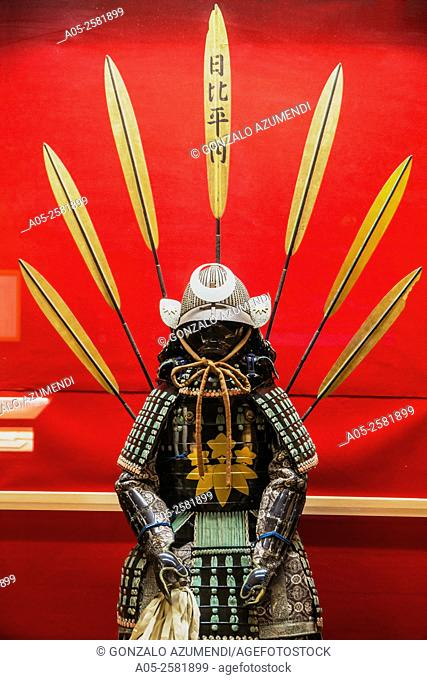 Armor and Helmet. Takayama Jinya. An Historical Government house. A site of historical national importance it tells the tale of Takayama's history at the time...