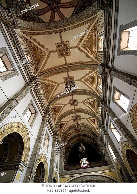 Iglesia de La Merced. Puebla, México