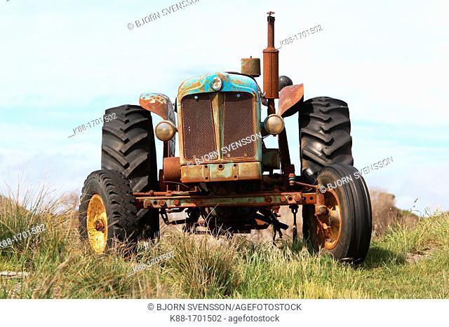 Old tractor  Tasmania, Australia