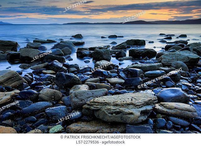 Coastline at Elgol, Scotland