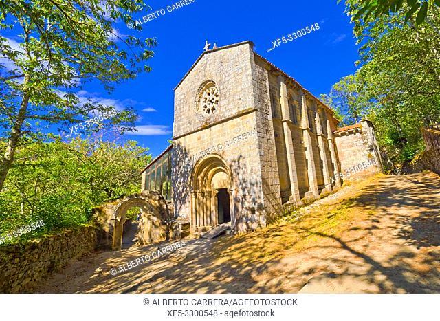 Monastery of Santa Cristina de Ribas de Sil, 12-13th Century Romanesque Style, Spanish Property of Cultural Interest, Spanish National Heritage Site