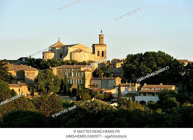 France, Gard, Pays d'Uzege, Uzes, St Etienne church