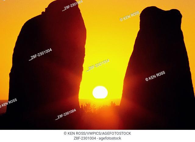 The Pinnacles Rock Formation, Nambung National Park, Near Cervantes, Western Australia