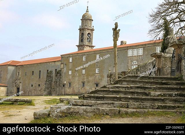 Santa Clara convent Allariz town Ourense, Galicia Spain