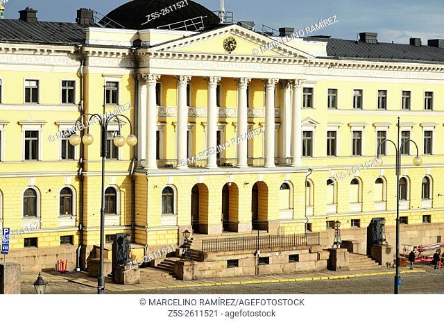 Government Palace. Senate Square. Helsinki. Finland