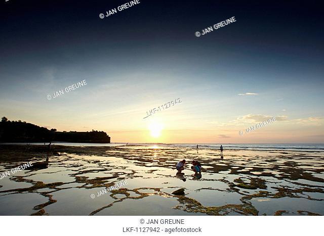 Beach at low tide, Balangan, Bali, Indonesia