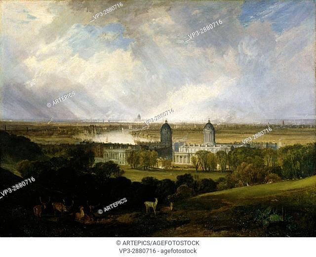 Joseph Mallord William Turner - London from Greenwich Park