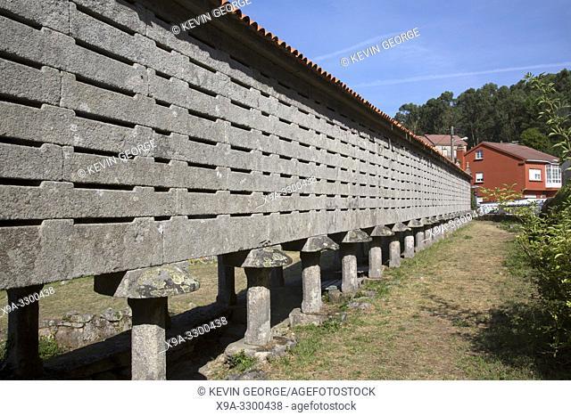 Lira Horreo; Coruna; Galicia; Spain