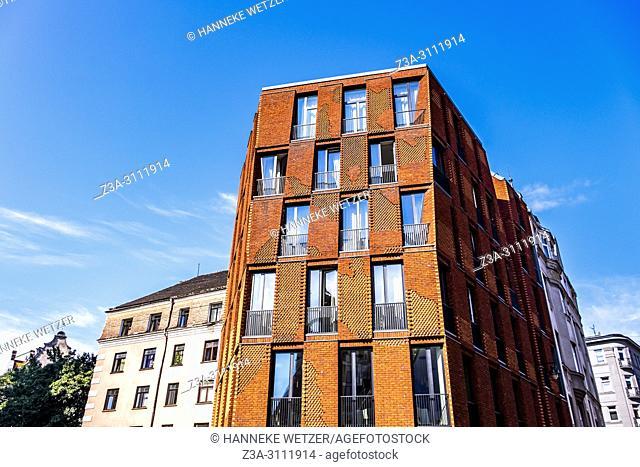 Modern architecture in Riga, Latvia, Europe