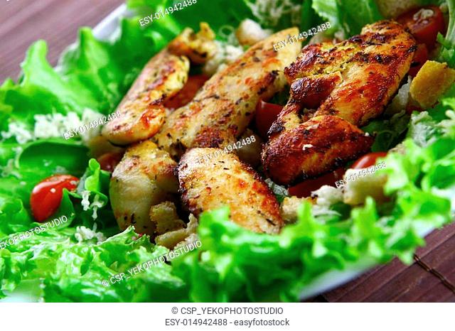 Cezar salad Stock Photos and Images | age fotostock