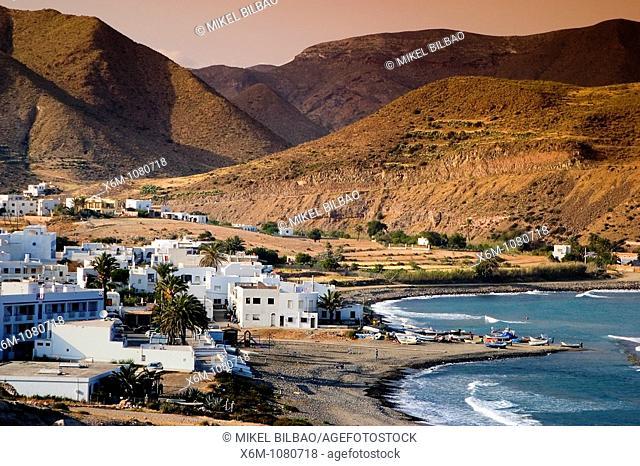 Las Negras  Cabo de Gata Natural Park, Almeria, Andalusia, Spain, Europe