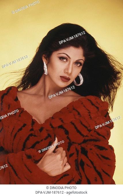 2000, Portrait of Indian film actress Shilpa Shetty