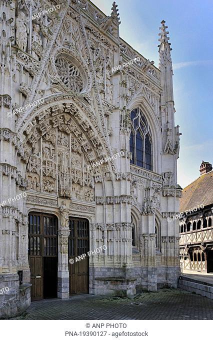 La chapelle du Saint-Esprit, Rue, Somme, Picardy, France, Europe