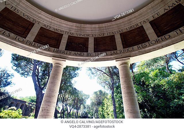 Rome American Cemetery Italy World War II