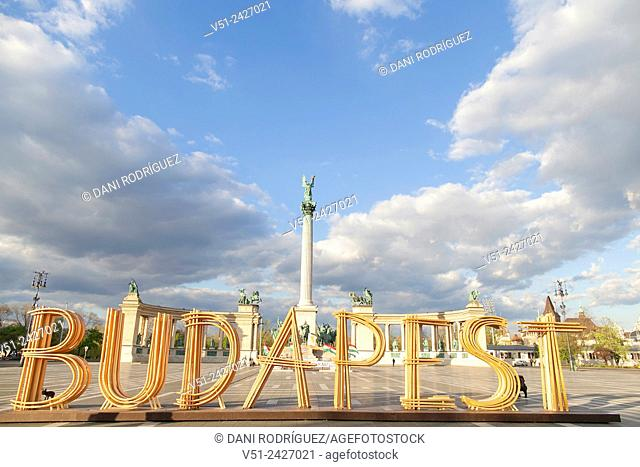 Budapest, Heroes Square, Hungary