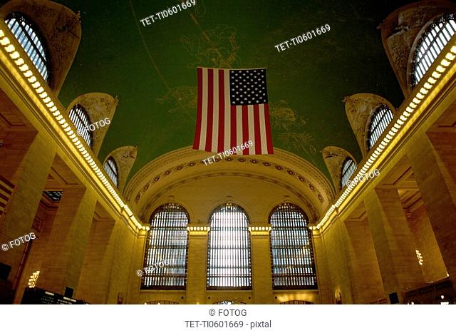 Interior of Grand Central Station building