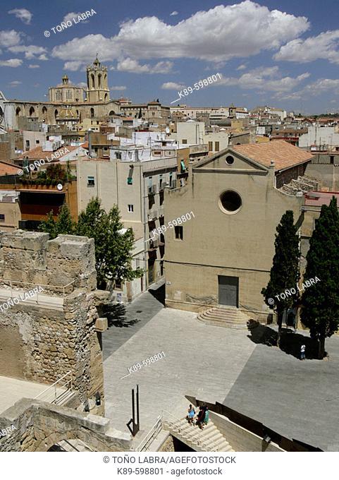Plaza del Rey, Tarragona, Catalunya, Spain