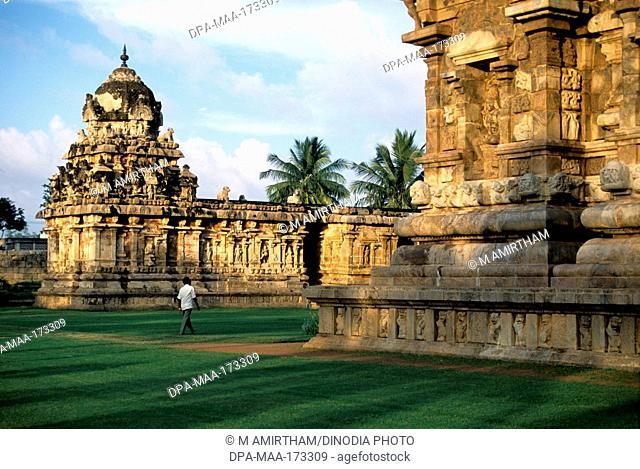 Brihadeshwara temple , Gangaikonda Cholapuram , Tamil Nadu , India