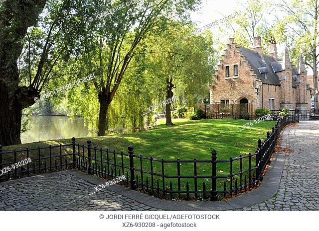 Medieval town of Bruges, Belgium  Brugge