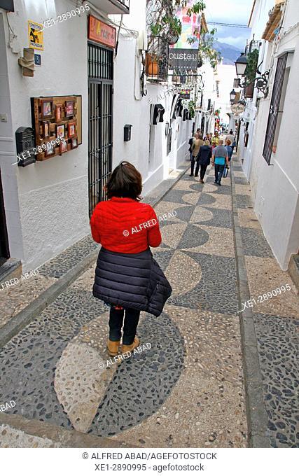 Street, Altea, Alicante, Spain