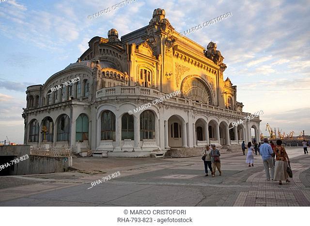 Casino, Waterfront promenade, Constanta, Romania, Europe