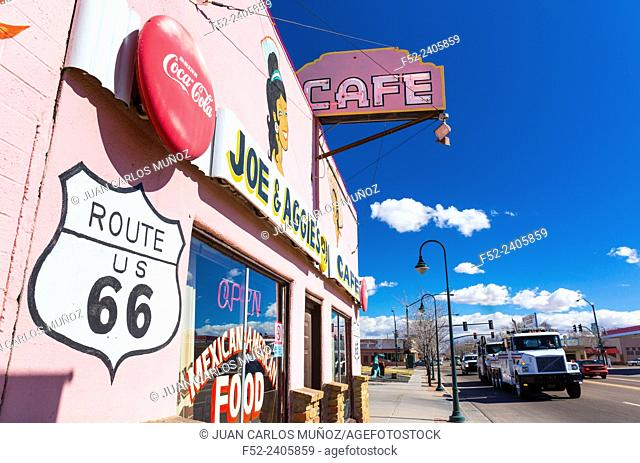 Holbrook, U.S. Route 66 (US 66 or Route 66), Arizona, USA, América