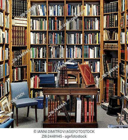LHome library,reading room,London,England