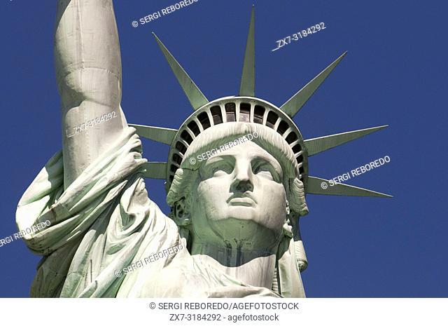 Statue of Liberty, Liberty Island, New York City, New York