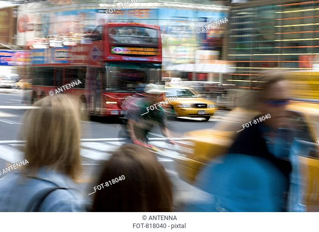 Street scene, Manhattan, New York City