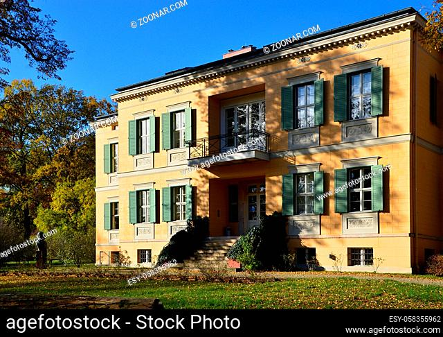 Historical Building in the Neighborhood Nauener Vorstadt, Potsdam, the Capital City of Brandenburg, Germany. Historisches Haus im Stadtteil Nauener Vorstadt