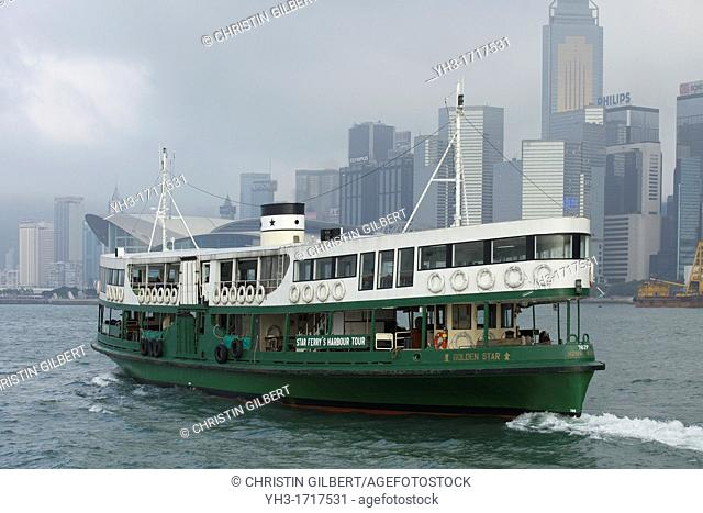 Star Ferry's Harbour Tour in Hong Kong