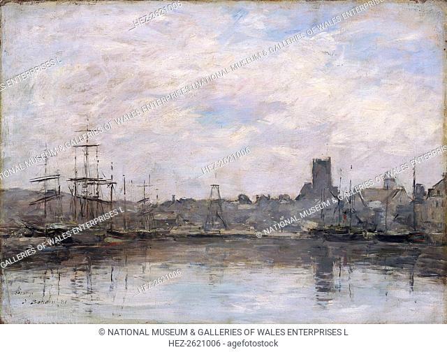 'September Morning: Port of Fecamp', 1880. Artist: Eugene Louis Boudin