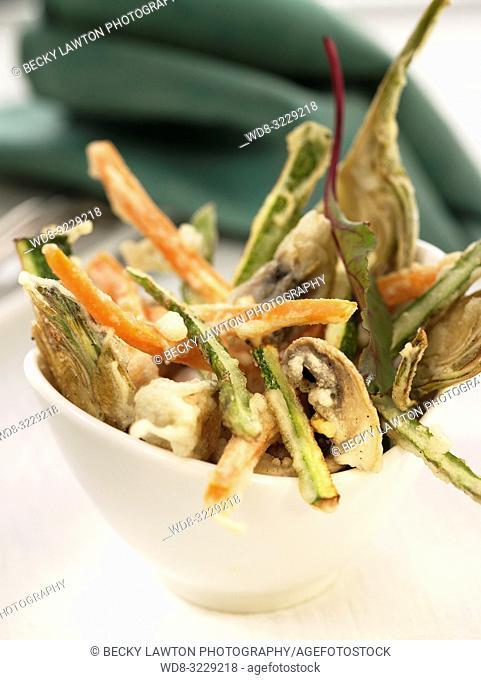 Tempura de verduras / Vegetable tempura